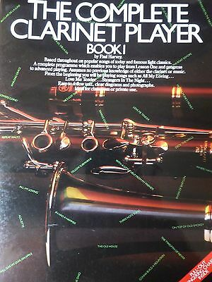 The Complete Clarinet Player Book 1 Paul Harvey