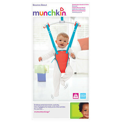 Munchkin Bounce About Door Bouncer | Baby Toddler Adjustable Padded Bouncer