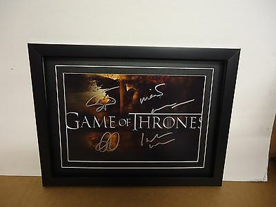 Game of Thrones (Cast) Genuine Hand signed Photograph & COA