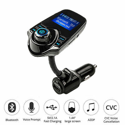 Car Kit Handsfree Wireless Bluetooth FM Transmitter MP3 Player LCD Modulator New