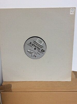 """X Static EP : 12"""" Vinyl: Old Skool Rave Classic PRODUCTION HOUSE Records"""