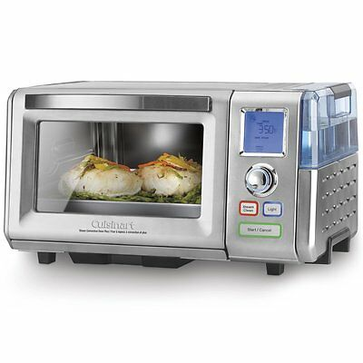 New Cuisinart CSO-300NC Combo Steam/Convection Oven New Steam Clean Feature
