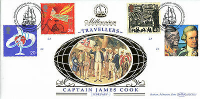 2 February 1999 Travellers Tale Benham Blcs 151 First Day Cover Marton Shs