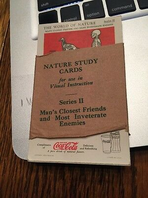 1930's Coca Cola Advertising Trading Cards Set Of 12. Series II