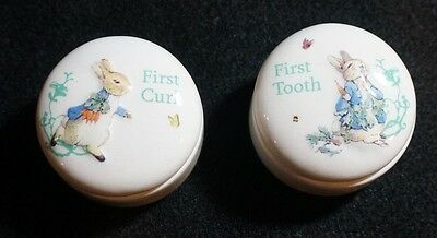 Peter Rabbit First Tooth and First Curl Boxes