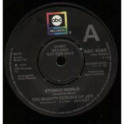 "MIGHTY CLOUDS OF JOY Stoned World 7"" VINYL UK Abc Demo B/W Heart Full Of Love"