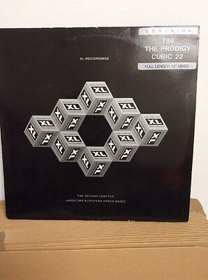 "XL Recordings The Second Chapter  - Vinyl Double Album 2 X 12"" The Prodigy Etc"