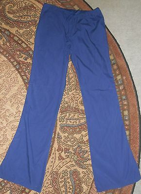Cherokee size SMALL Navy Blue Scrub Pants/Bottoms 33 inch Inseam