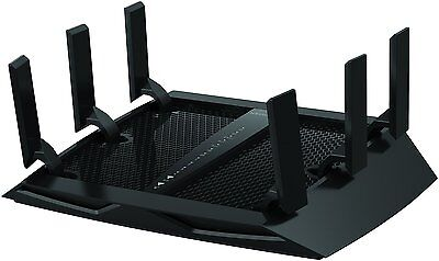 Netgear Nighthawk X6 Wireless Router AC3200 Tri-Band WiFi Wireless Gigabit 4K