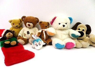 Joblot of Vintage Kids Teddy's and Soft toys 7 Pieces JL304