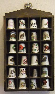 COLLECTABLE THIMBLES x 24