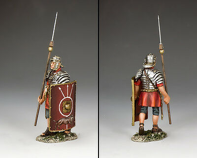 KING AND COUNTRY Romans - Marching Legionary ROM012 Painted Metal Figure