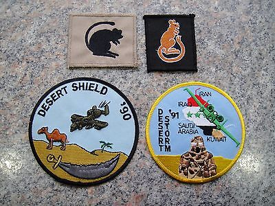 Collectable British Army First Gulf War Badges
