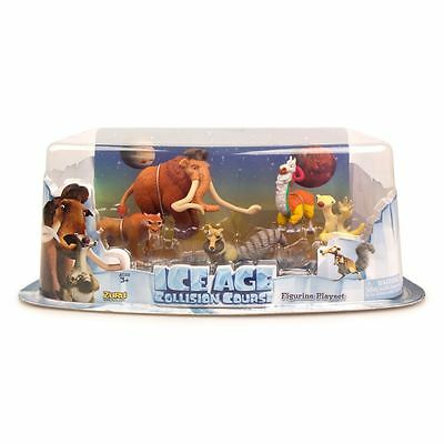 Ice Age Collision Course Collection 5 Figure Pack Figurine Playset