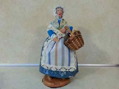 """France Les SANTONS Didier Isis Doll Provence ~ Signed """"ISIS"""""""