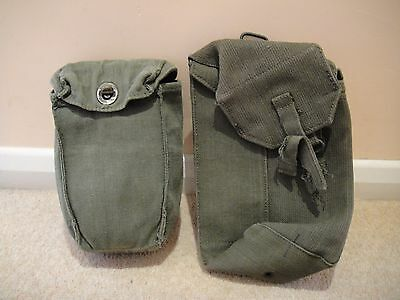 British Army 1958 Pattern Water Bottle and Carrier + Ammo Pouch