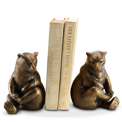 SPI Home Lonely Bear Book Ends Set of 2