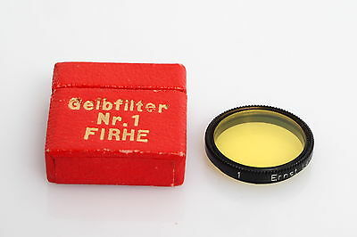 Leitz / Leica FIRHE Yellow Filter 1