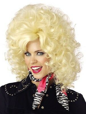 Country Western Dolly Parton 1950s 60s 70s 80s Women Costume Wig