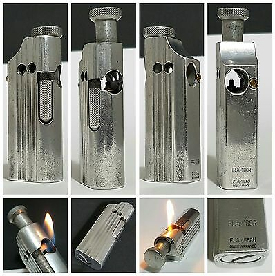 Briquet essence / FLAMIDOR FLAMBEAU DESIGN / pipe lighter feuerzeug accendino