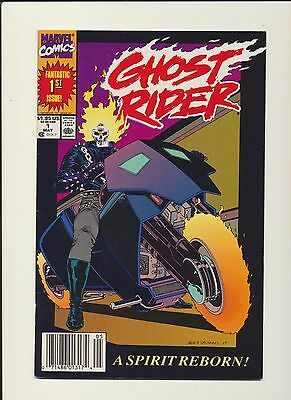 Ghost Rider #1! Marvel Comics 1990 1St App Danny Ketch! See Scans And Pics! Wow!