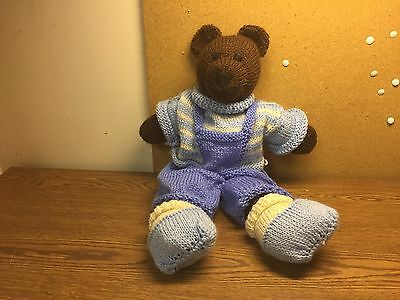16 inch Hand Knitted Bear