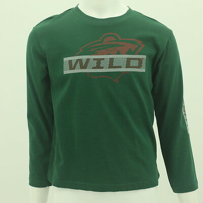 Minnesota Wild Kids Size Official Reebok NHL Long Sleeve T-shirt New With  Tags f33060918
