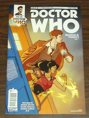 Doctor Who #3.1 Tenth Doctor Year Three Titan Cover D February 2017 Nm (9.4)