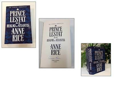 Anne Rice: Prince Lestat & The Realms of Atlantis Signed Book 9781784741853