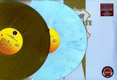 Madonna The Immaculate Collection Official Blue / Gold Usa Vinyl Lp Ltd Sealed