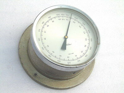 Vintage Fischer Germany Precision Weather Hpa Barometer