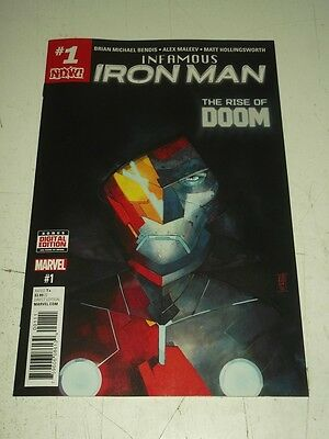 Iron Man Infamous #1 Marvel Comics Nm (9.4)