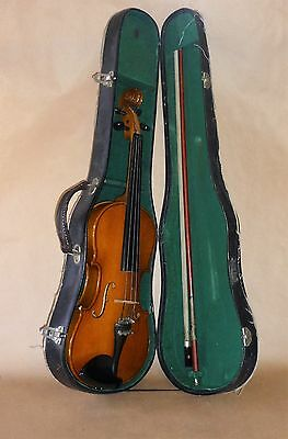 Parrot Violin 3/4 Size With Case & Bow