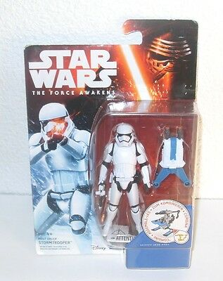 Stormtrooper First Order  Star Wars The Force Awakens 3,75 Figure Rare