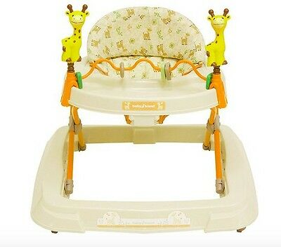 Baby Trend Infant Safety Walker Adjustable Activity Play Toy Tray, Kiku
