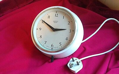 Smiths Sectric Adelphi electric wall clock bakalite for refurbishment 1930s?