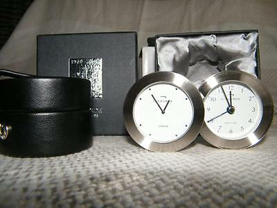 British Airways Concorde Dual Time Travel Alarm Clock , Boxed.  *Free shipping*