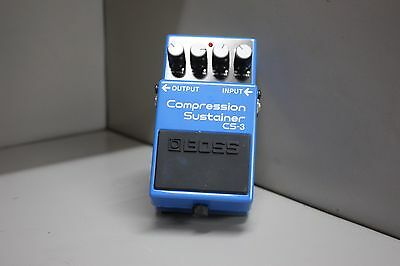 BOSS CS-3 Compressor Sustain Compact Guiar Effects Pedal