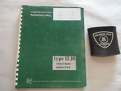 Tektronix Type 1L10 Spectrum Analyzer Instruction Manual 070-0510-00