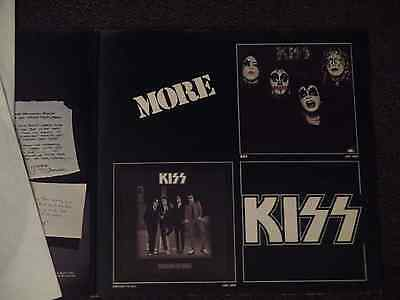 KISS   Alive! Lp Rare - Different inner cover