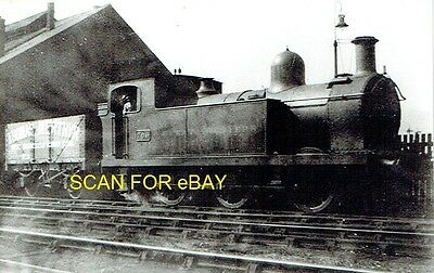 Railway Photo GWR (ex-Barry Rly A Class) 060T No 706 & PO Wagon at Cardiff 1930
