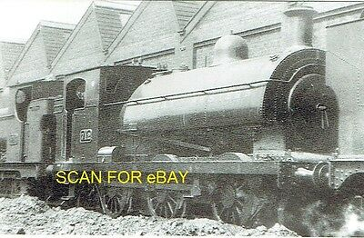 Railway Photo GWR (ex-Barry Rly F Class) 060ST No 712 at Cardiff Canton mpd 1930