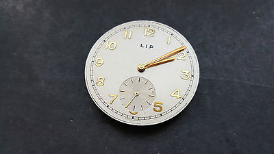 "Good Quality High Grade French ""lip"" Pocket Watch Movement Spares Or Repairs"