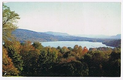 Stockbridge Bowl - Stockbridge Massachusetts Postcard  #132 B
