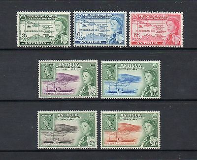 Antigua - 1958-62 Commemoratives - Lightly Mounted Mint - High Cat £10