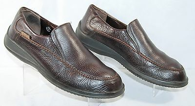 MEPHISTO Leather Loafers Shoes Brown Men's 11.5 M