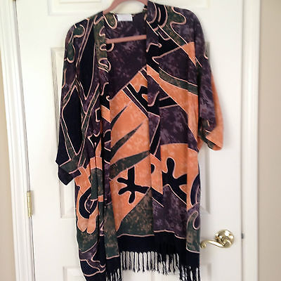 Silk Shawl New Mexico... One Size Fits All
