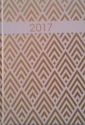 A5  2017 Shards Cover - Week To View Hardback Diary/Planner.