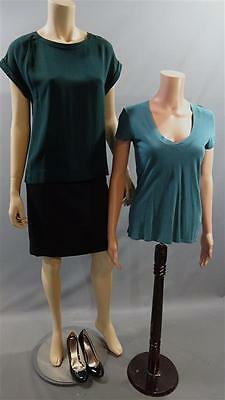 Homeland Jessica Brody Morena Baccarin Worn Theory Perse Shirt Set Skirt Shoes