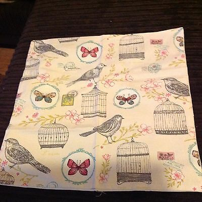 2X Gorgeous Shabby Chic Cushion Covers Brand New